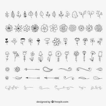 Blumenschmuck und schmuck