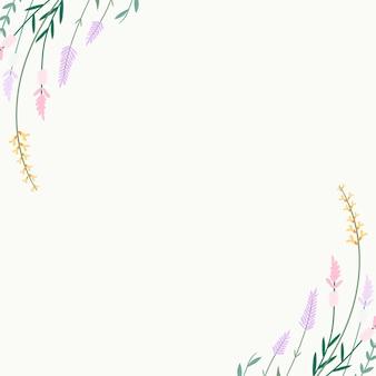 Blumensommerhintergrund