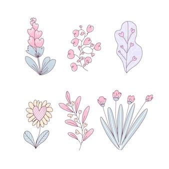 Blumensträuße gesetzt