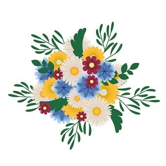 Blumenstrauß sommerblumen
