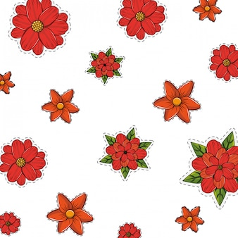 Blumensymbol Hintergrund