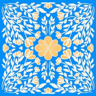 Blumenvektor der abstrakten illustration