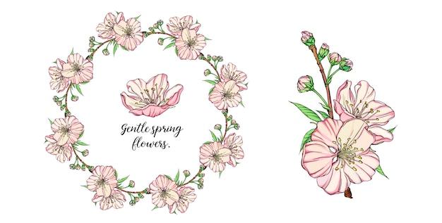 Blumenzusammensetzung mit frühlingsblumen