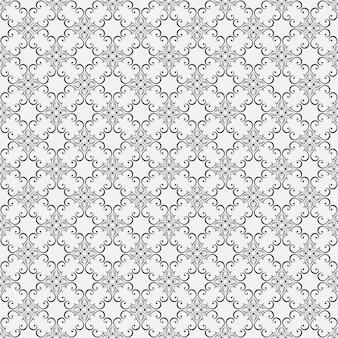 Blumige nahtlose tapeten im barockstil. kann für hintergrund- und seitenfüllungs-webdesign verwendet werden.