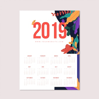 Blumiger kalender