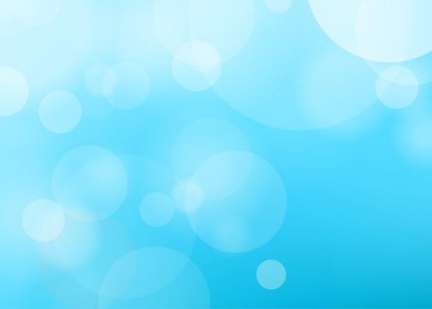 Blured blauem hintergrund