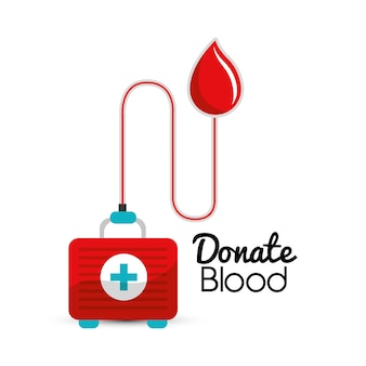 Blutspende tage symbol