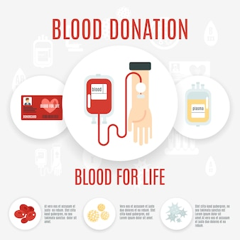 Blutspender-symbol