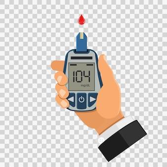 Blutzuckertest, überwachung und diagnose von diabetes