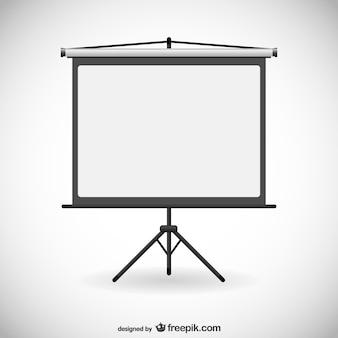 Board für präsentationen vektor