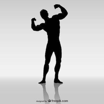 Bodybuilding-vektor