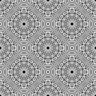 Böhmische orientalische nahtlose musterkaleidoskopkunst