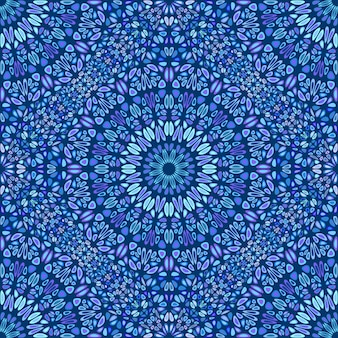 Böhmisches abstraktes blütenblatt-mandalamuster