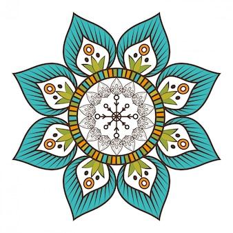Böhmisches hintergrunddesign