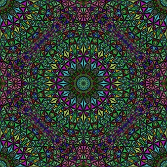 Böhmisches nahtloses pastellfarbenes abstraktes mandalamuster