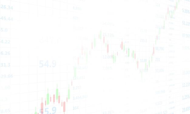 Börse, wirtschaftsdiagramm mit diagrammen, geschäfts- und finanzkonzepten und berichten, hintergrund des abstrakten technologiekommunikationskonzepts