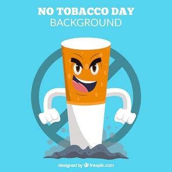 Böse zigarettenhintergrund