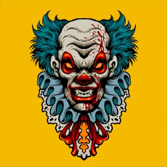 Böser clown terror