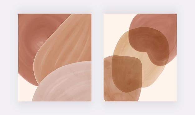 Boho aquarell wandkunstdrucke