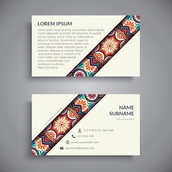 Boho art-visitenkarte