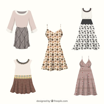 Boho kleider-kollektion
