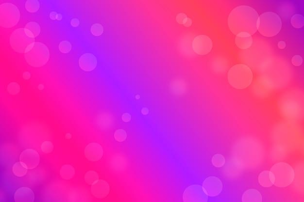 Bokeh effekt hintergrund mit farbverlauf