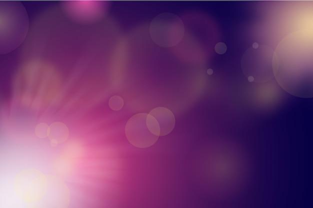 Bokeh-effekt-hintergrund mit farbverlauf