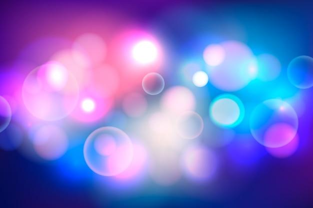 Bokeh hintergrund mit starken lichtern