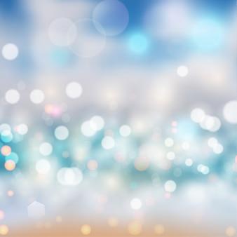Bokeh lichter bewirken gradientenhintergrund