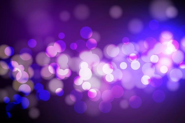 Bokeh lichter und glitzerhintergrund