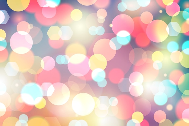 Bokeh lichtglitter auf abstraktem hintergrund