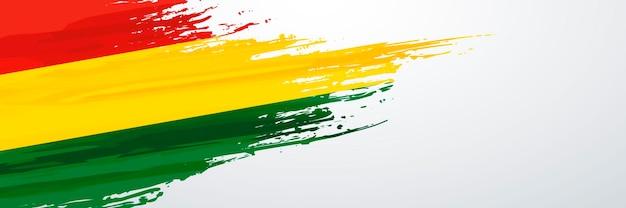 Bolivien bannerfahne