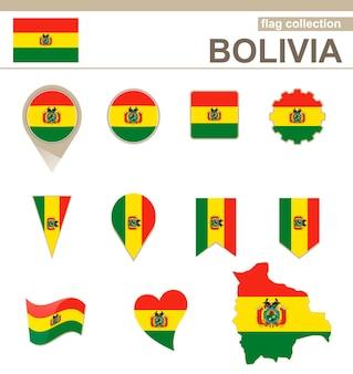 Bolivien flaggenkollektion, 12 versionen