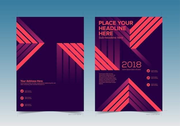 Book cover design vorne und hinten mit anschnitt
