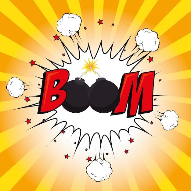 Boom, pop art