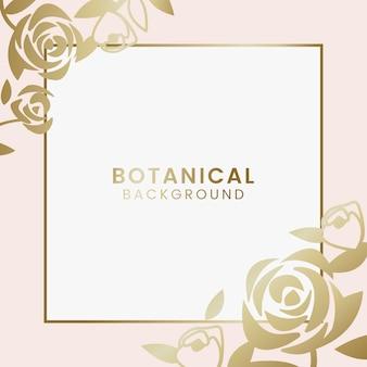 Botanische Blumenillustration
