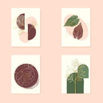 Botanisches deckblatt