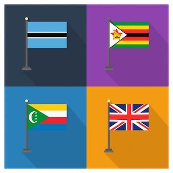 Botswana Simbabwe Komoren Großbritannien