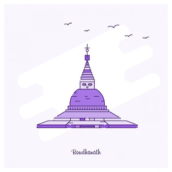 Boudhanath-wahrzeichen