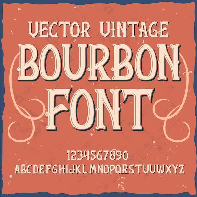 Bourbon original