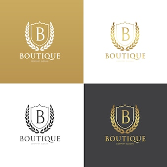 Boutique logo kollektion
