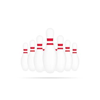 Bowling club symbol