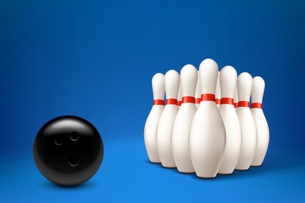Bowling mit ball