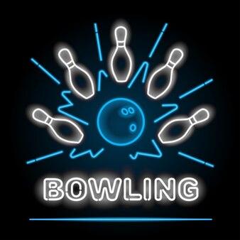 Bowling neon seufzer