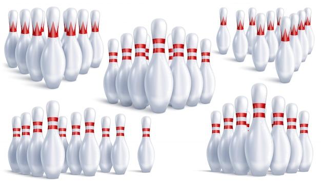 Bowling pins sets
