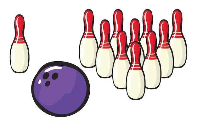 Bowling sport zubehör
