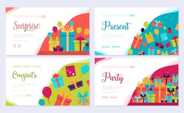 Box infografik vorlage von flyear, web-banner, ui-header, website eingeben. layouteinladung modern