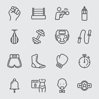 Box-linie-symbol