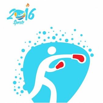 Boxen rio olympia-symbol