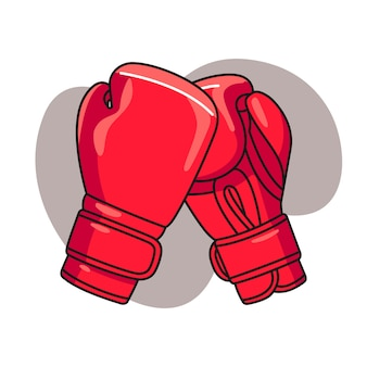 Boxhandschuh illustration